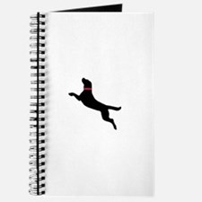 Black Dock Jumping Dog Journal