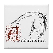 Andalusian Horse Tile Coaster