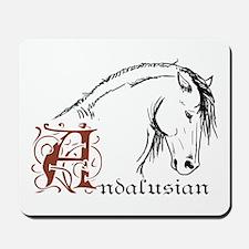 Andalusian Horse Mousepad