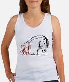 Andalusian Horse Women's Tank Top