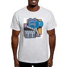 Film Making Ash Grey T-Shirt