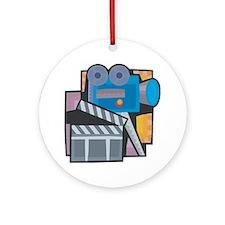 Film Making Ornament (Round)