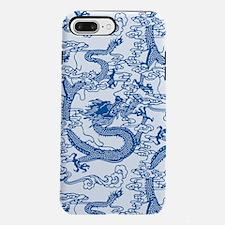 dragon-pattern_blue-tr_9x9.png iPhone 7 Plus Tough