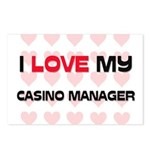 I Love My Casino Manager Postcards (Package of 8)