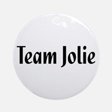Team Jolie Ornament (Round)