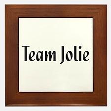Team Jolie Framed Tile