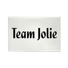 Team Jolie Rectangle Magnet