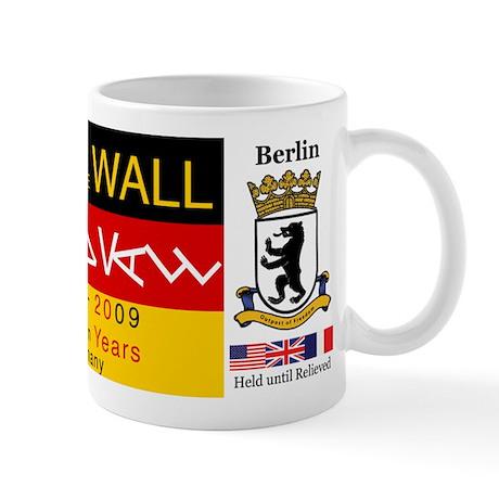 Fall of the Wall Anniversary Mug