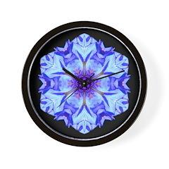 Bachelors Button II Wall Clock