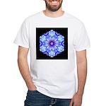 Bachelors Button II White T-Shirt