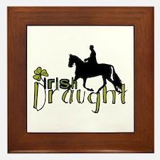 Irish Draught Horse Framed Tile
