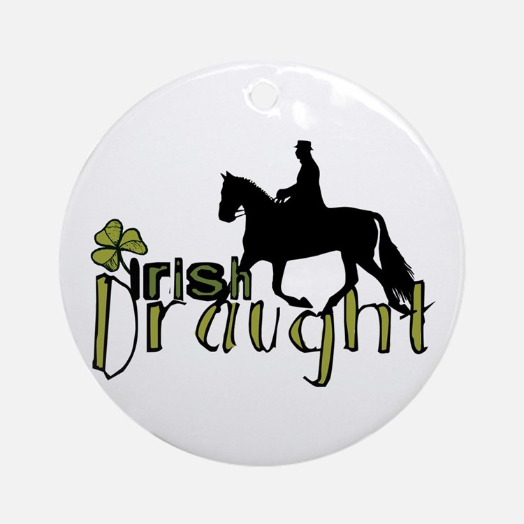 Irish Draught Horse Ornament (Round)