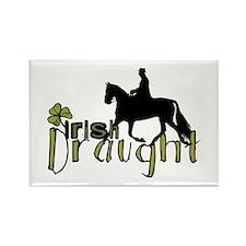 Irish Draught Horse Rectangle Magnet (100 pack)