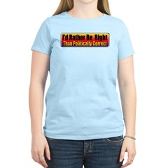 I'd Rather Be Right T-Shirt
