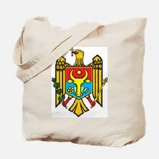 Moldova Coat Of Arms Tote Bag