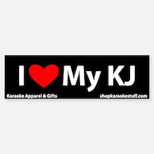 I Heart My KJ Bumper Bumper Bumper Sticker