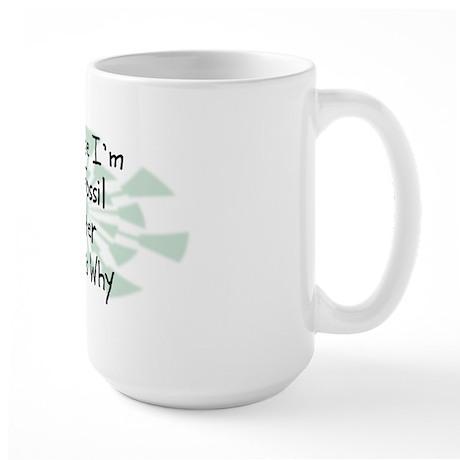 Because Fossil Hunter Large Mug