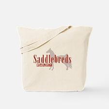 Saddlebred Horse Tote Bag