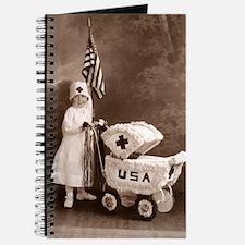 Cute Vintage nurse Journal