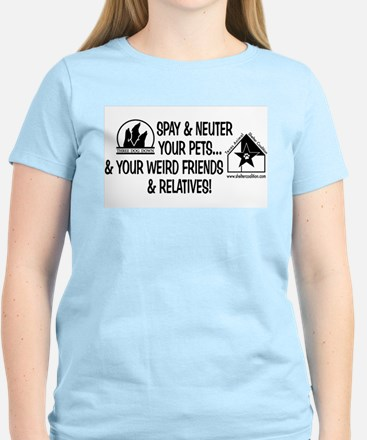 Spay & Neuter Fun! Women's Light T-Shirt