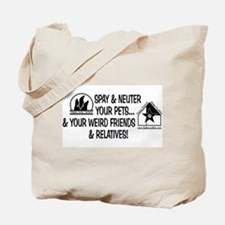 Spay & Neuter Fun! Tote Bag