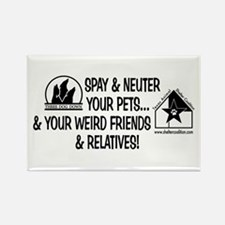 Spay & Neuter Fun! Rectangle Magnet