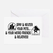 Spay & Neuter Fun! Greeting Card