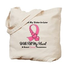 BreastCancerSister-in-Law Tote Bag