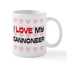 I Love My Cannoneer Mug