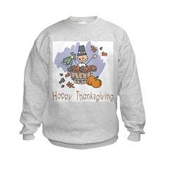 Happy Thanksgiving Kids Sweatshirt