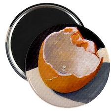 Broken Egg Shell Artwork Magnet