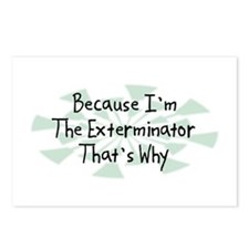 Because Exterminator Postcards (Package of 8)