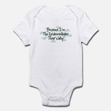 Because Epidemiologist Infant Bodysuit