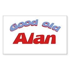 Good Old Alan Rectangle Decal