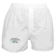Because Environmental Engineer Boxer Shorts