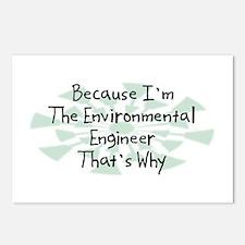 Because Environmental Engineer Postcards (Package