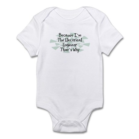 Because Electrical Engineer Infant Bodysuit