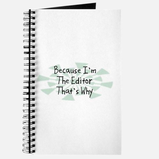 Because Editor Journal