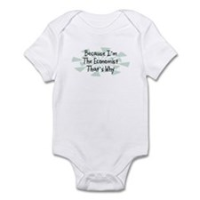 Because Economist Infant Bodysuit