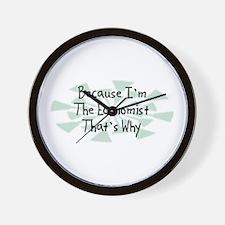 Because Economist Wall Clock