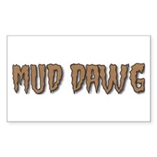 "Mud Dawg - ""Brown Mud"" Decal"