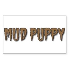 "Mud Puppy - ""Brown Mud"" Decal"