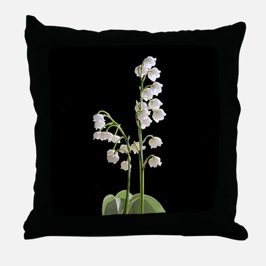 lily of Valley Throw Pillow