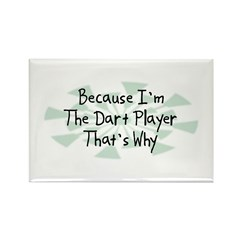 Because Dart Player Rectangle Magnet