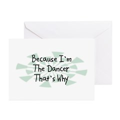 Because Dancer Greeting Cards (Pk of 20)