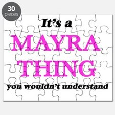 It's a Mayra thing, you wouldn't un Puzzle