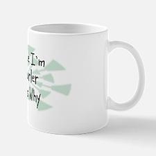 Because Curler Mug