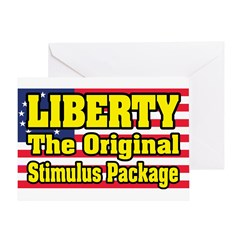 Liberty, The Original Stimulu Greeting Card