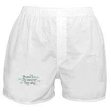 Because Crocheter Boxer Shorts
