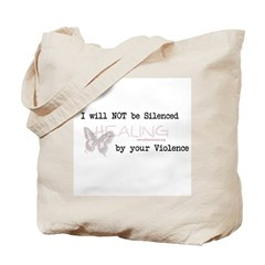 I Will Not Be Silenced Tote Bag